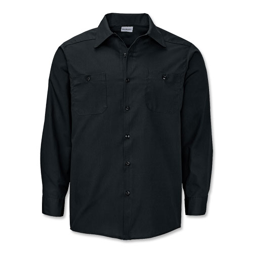 WearGuard® Deluxe Long-Sleeve Industrial Work Shirt