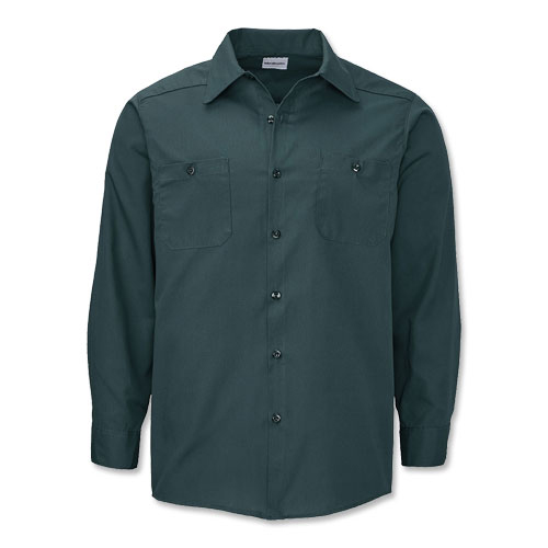 Image of WearGuard Deluxe Long Sleeve Industrial Work Shirt