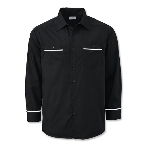 WearGuard® Long-Sleeve Enhanced-Visibility Work Shirt