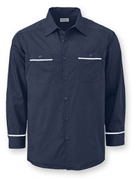 WearGuard® Long-Sleeve Enhanced-Visibility Premium Work Shirt