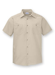 WearGuard® Premium Short-Sleeve Industrial Work Shirt