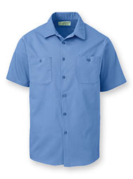 Aramark Dura-Press Short-Sleeve Shirt