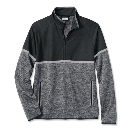 WearGuard® Half-Zip Reflective Double Knit