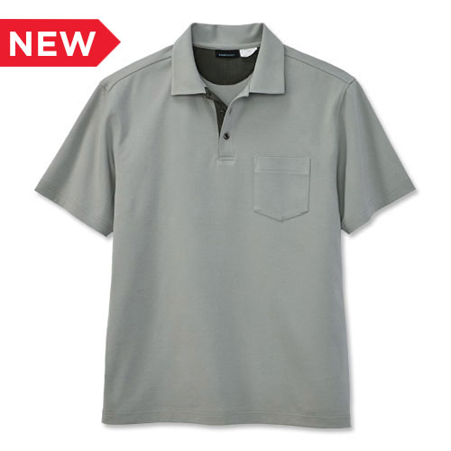 A.Mark Studio™ Men's Short-Sleeve Pima Cotton Polo
