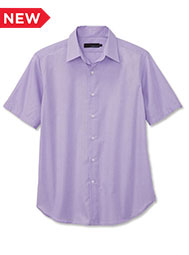 A.Mark Studio™ Men's Short-Sleeve End-on-End Dress Shirt