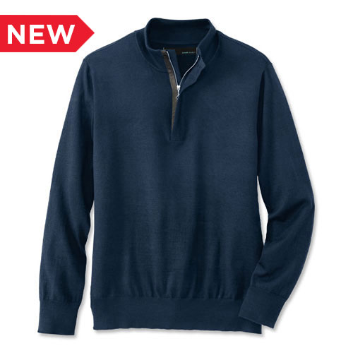 A.Mark Studio™ Men's 1/4-Zip Sweater