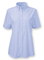 WearGuard® Women's Short-Sleeve Ultimate Oxford Work Shirt