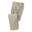 Aramark Men's Pleated Industrial Work Pants