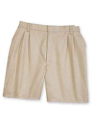 ARAMARK Pleated Industrial Work Shorts
