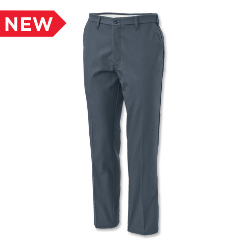 Aramark Men's Flat-Front Industrial Work Pants