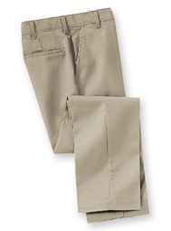 ARAMARK Flat-Front Industrial Work Pants