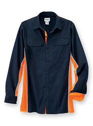 WearGuard® Enhanced-Visibility Color Block Work Shirt
