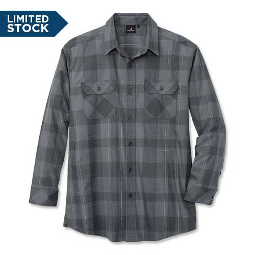 WearGuard® Long-Sleeve Discreet Visibility Work Shirt
