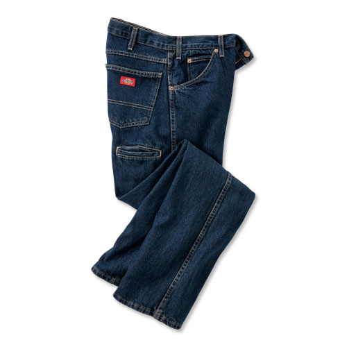 Dickies Straight-Leg Cell Phone Pocket Jeans