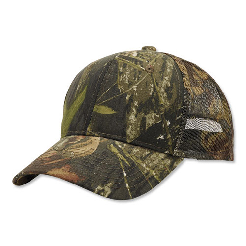 Camouflage Mesh-Back Cap