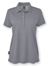 WearGuard® TecGuard™ Women's Short-Sleeve Jersey-Knit Polo