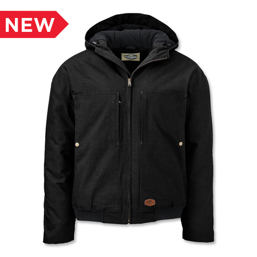 SteelGuard® Insulated Hooded Duck Jacket