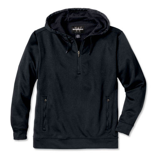WearGuard® Lightweight Performance Fleece ¼-Zip Hooded Pullover