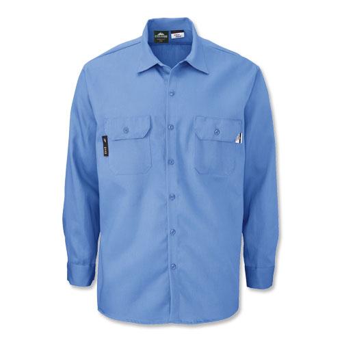 5065 aramark indura flame resistant work shirt from aramark for Flame resistant work shirts