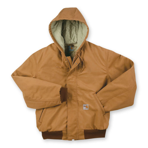 5840 Carhartt Duck Active Jacket With Attached Hood From Aramark