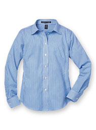 Women's Devon & Jones® Stripe Dress Shirt