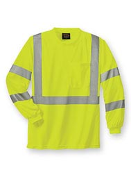 WearGuard® Class 3 Long-Sleeve High-Visibility Shirt