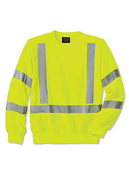 WearGuard ® Class 3 High-Visibility Crewneck Sweatshirt