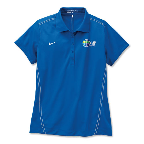 Women's Nike Golf Dri-FIT Sport Swoosh Piqué Polo