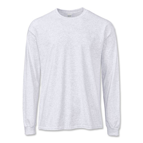 100% Ultra Cotton® or Cotton Blend Long-Sleeve T