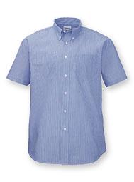 Button Down Collar Work Shirts
