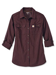 Carhartt Force® Women's Ridgefield Long-Sleeve Shirt