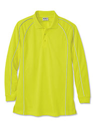 WearGuard® Long-Sleeve Enhanced Visibility Color Block Polo