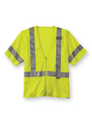 Class 3 High-Visibility Short-Sleeve Vest