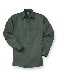 Aramark Dura-Press Long-Sleeve Shirt