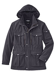 Multi-Pocket Bonded Field Jacket