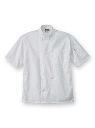 Short-Sleeve Performance Chef Coat