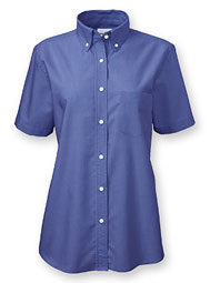 Women's Short-Sleeve Ultimate Oxford Work Shirt