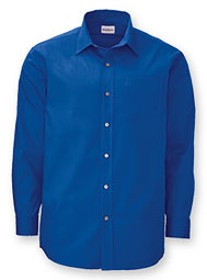 WearGuard® Men's Long-Sleeve Poplin Shirt