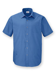 WearGuard® Men's Short-Sleeve Poplin Shirt