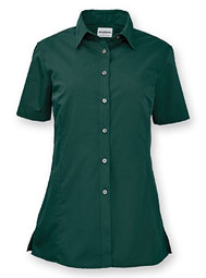WearGuard® Women's Short-Sleeve Poplin Shirt