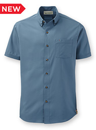 Men's Eco Short-Sleeve Button-Down Collar Shirt