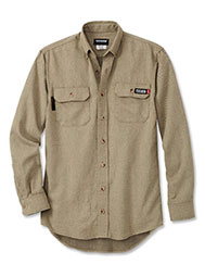 TECGEN® Select Flame-Resistant Long-Sleeve Work Shirt