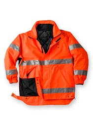 High-Visibility Class 3 System Parka