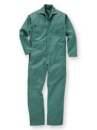 Indura® Snap-Front Flame-Resistant Coveralls