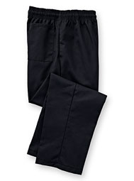 Elastic-Waist Chef Pants