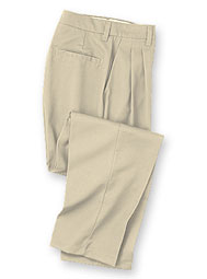 Aramark Women's Pleated Industrial Work Pants
