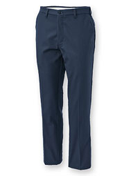 Aramark Authentic Men's Flat-Front Industrial Work Pants