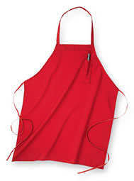 ARAMARK Pencil-Pocket Industrial Bib Apron