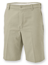 Aramark Men's Flat-Front Industrial Work Shorts