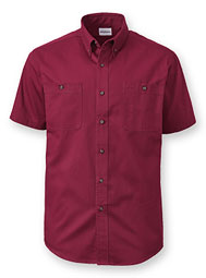 WearGuard® Short-Sleeve 100% Cotton Twill Shirt